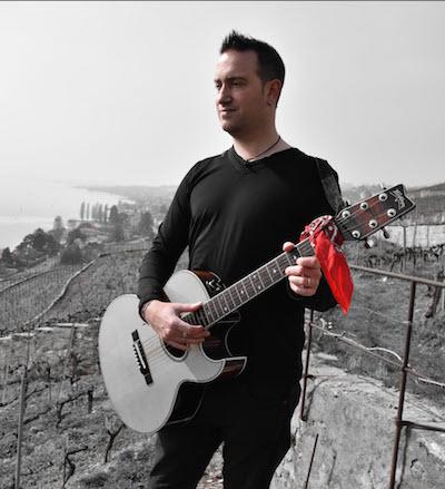David, une guitare et des chansons de Renaud
