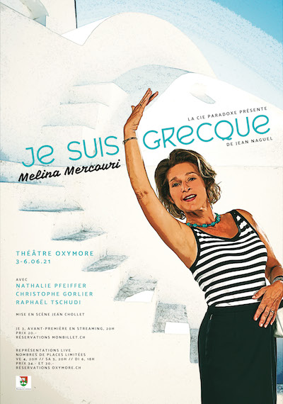 Je suis Grecque ! Melina Mercouri