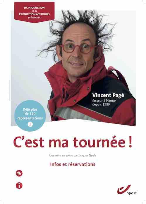 Vincent Pagé C'est ma Tournée